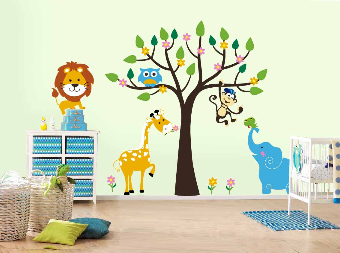 Фотообои на стену для новорожденных