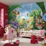 Фото 94: Фотобои с феями в детской