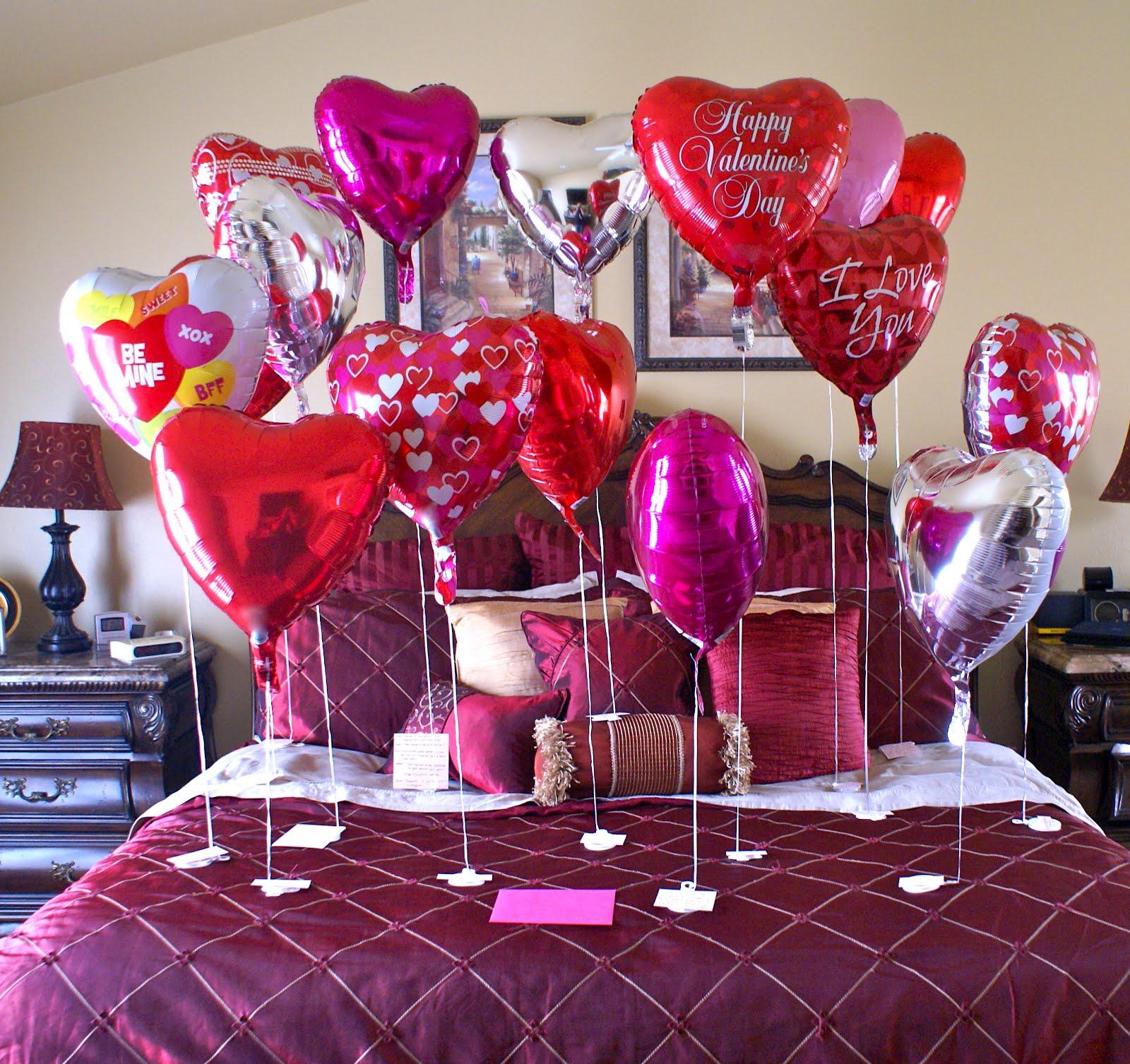 воздушные шары для украшения комнаты