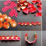 Фото 54: Многогранная елочная игрушка из бумаги