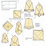 Фото 40: Колокольчик в стиле оригами