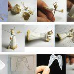 Фото 56: Изготовление ангелочка из бумаги