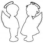 Фото 101: Вытыаннки в виде ангелов