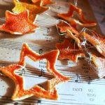 Фото 29: Звездочки Давида из апельсиновых корок