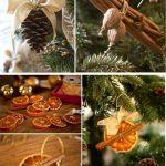 Натуральные аромаукрашения на елку
