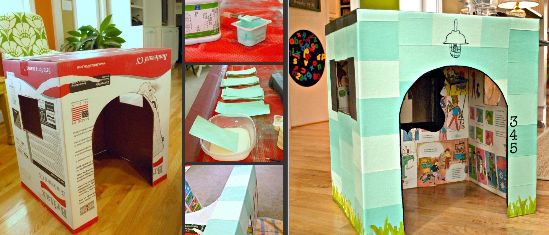 Мебель из коробок своими руками для детей фото 544