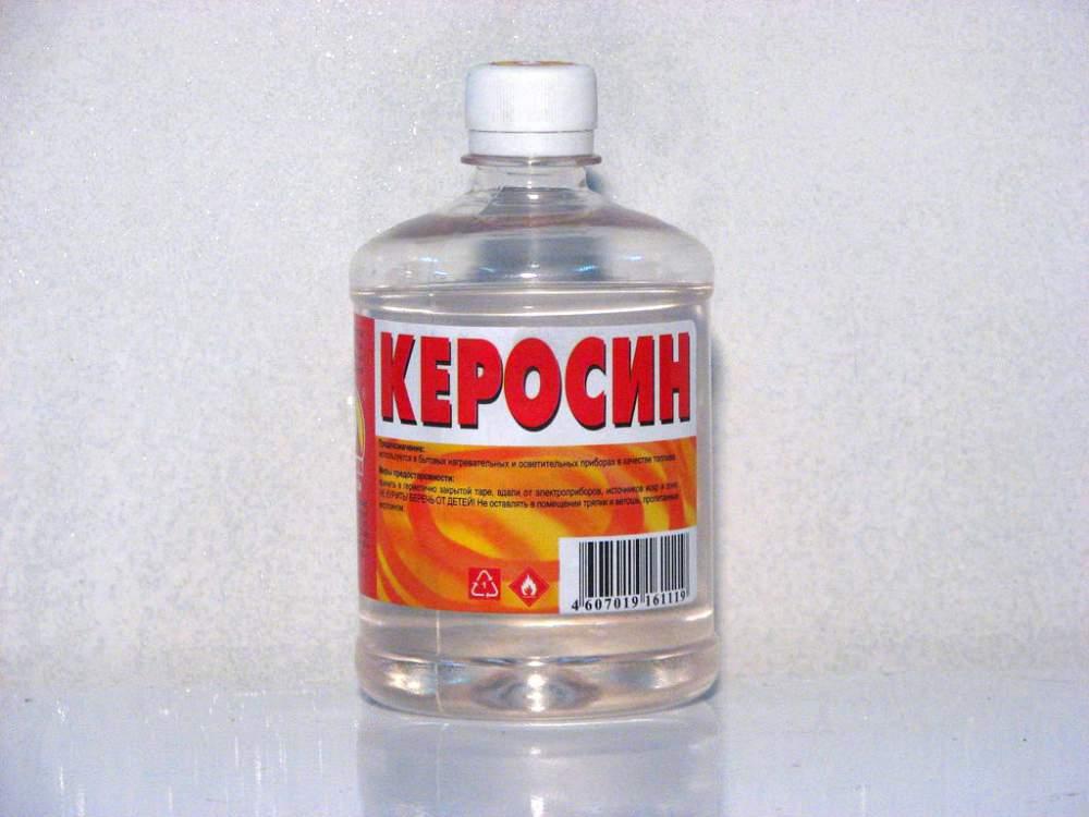 При удалении стойкого загрязнения воспользуйтесь керосином