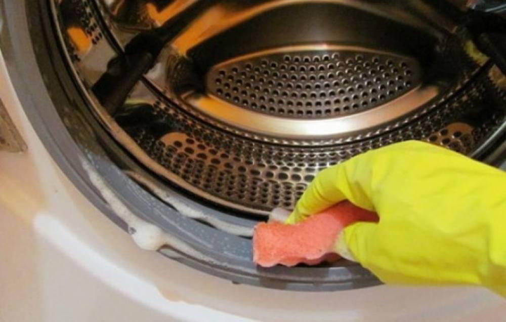Чистка моющим средством