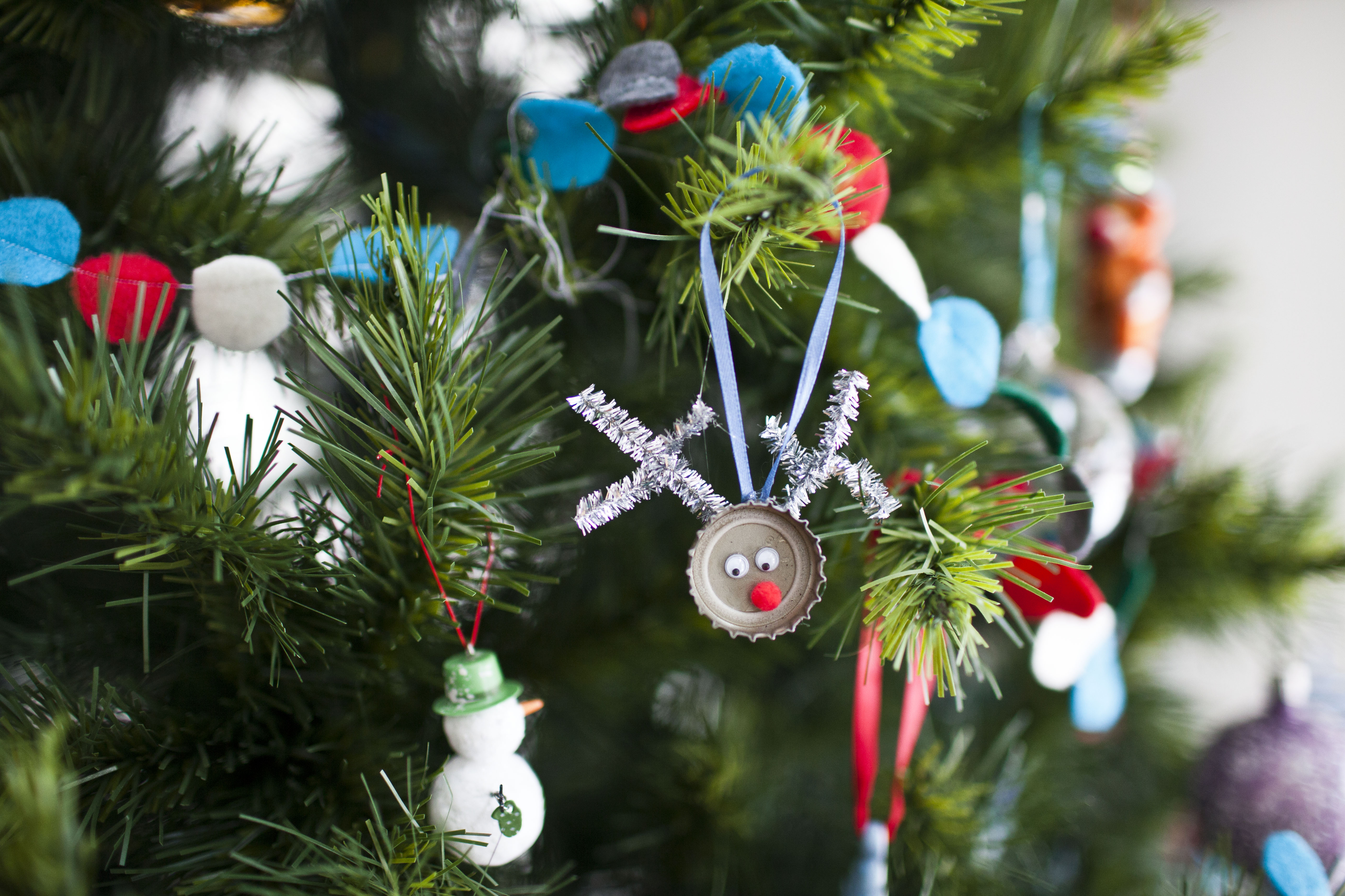 Новогодние игрушки на елку своими руками из подручных средств