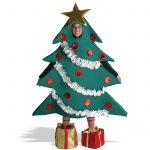 Фото 41: Костюм елочки с башмачками подарками
