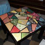 Фото 29: Витражный столик в интерьере