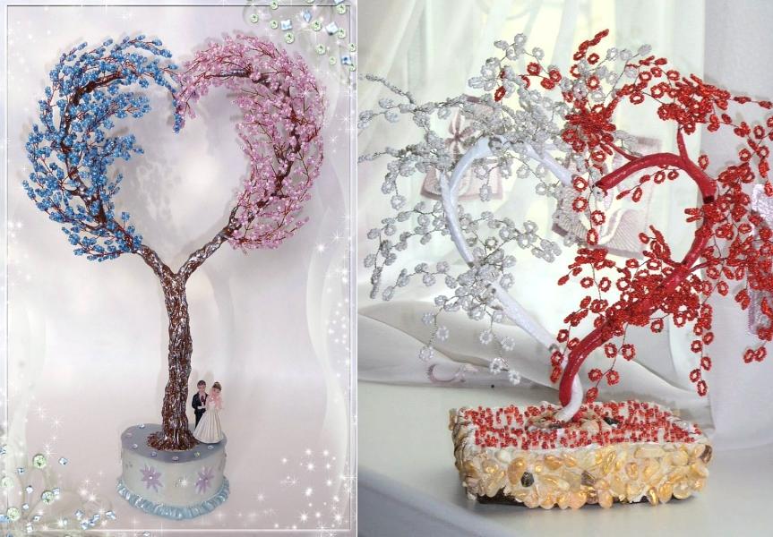 Примеры дерева любви из бисера