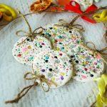 Фото 44: Елочные украшения из соленого теста