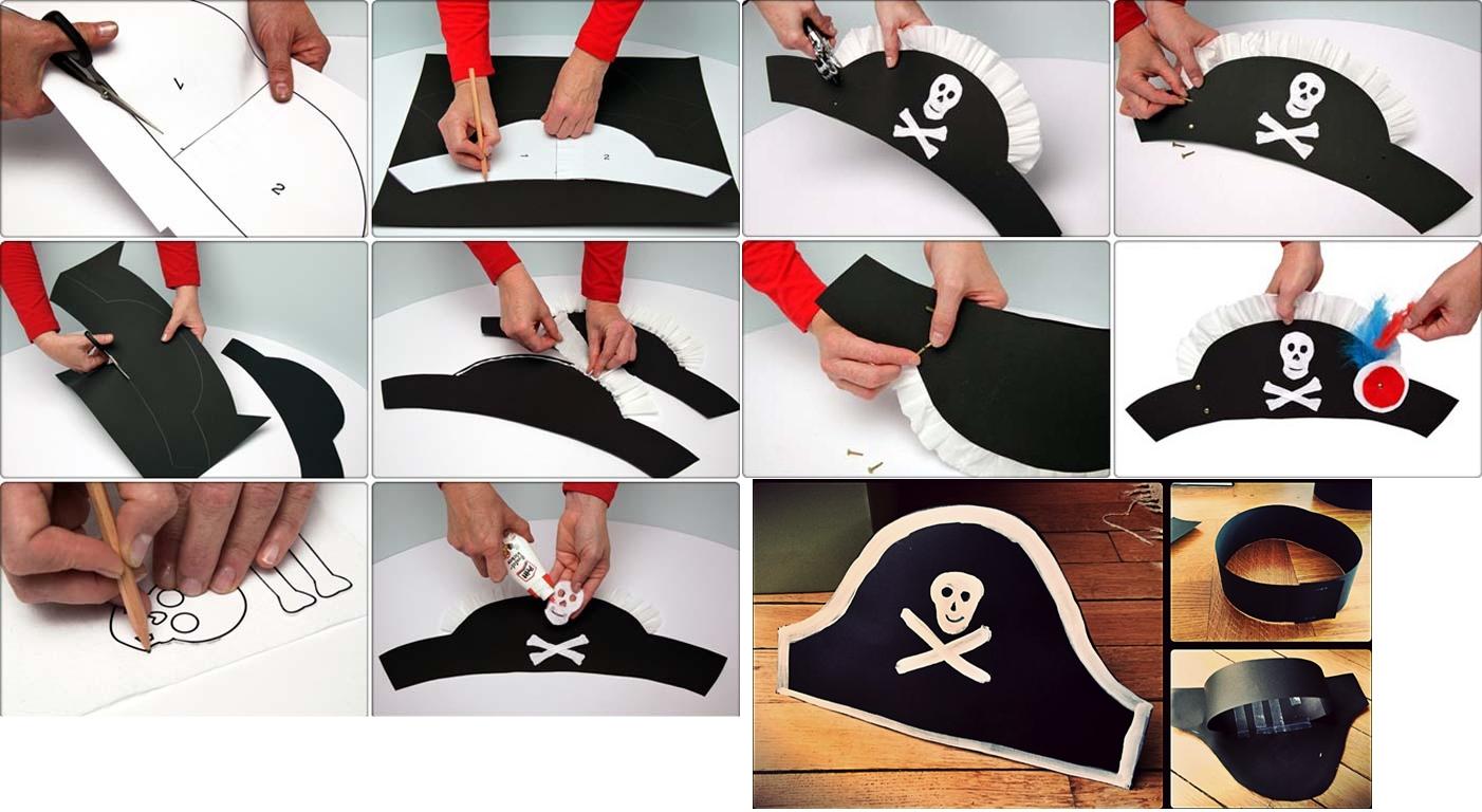 Изготовление шляпы пирата