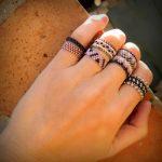 Фото 54: Кольца из бисера
