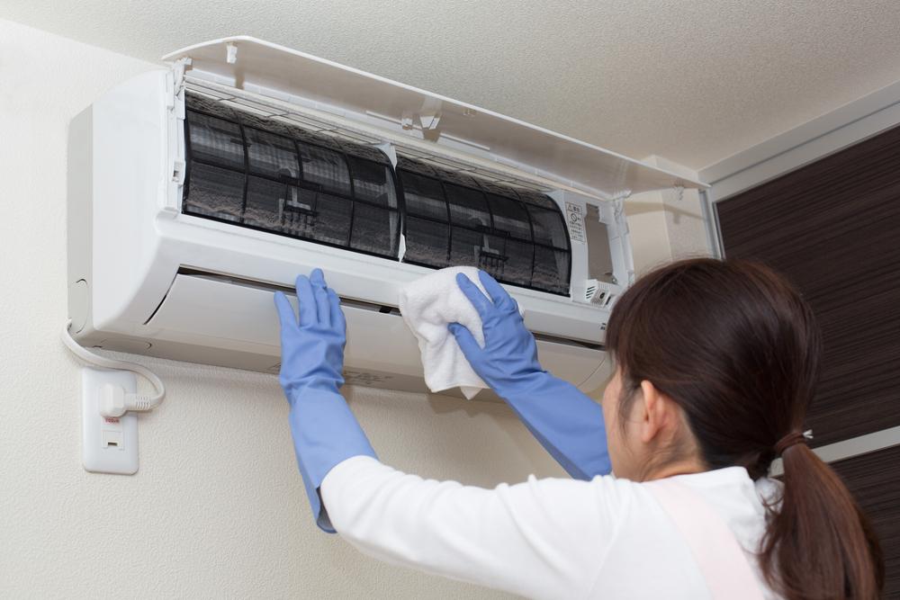 Следует осуществлять частые влажные уборки, чтобы улучшить качество воздухообмена