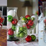 Фото 27: Новогодние композиции в вазах