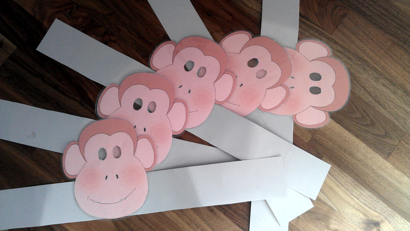Маска обезьянки для детей