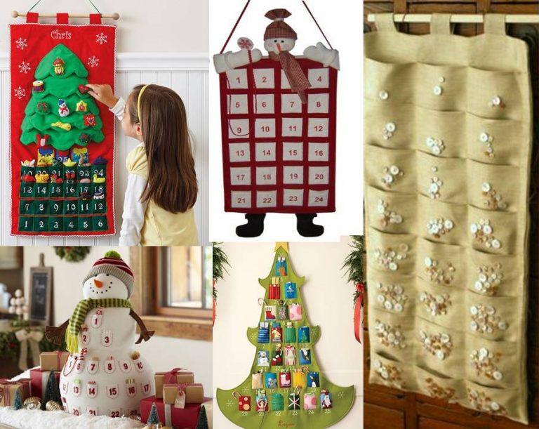 Как сделать рождественский календарь своими руками 18