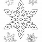 Фото 31: Трафареты снежинок