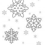 Фото 65: Трафареты снежинок