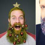 Фото 64: Украшение бороды к Новому Году