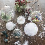 Фото 32: Варианты украшения прозрачных новогодних шариков