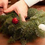 Фото 53: Рождественский венок своими руками