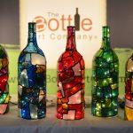 Фото 28: Витражные бутылки в интерьере