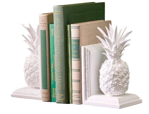 Держатели для книг в виде ананасов