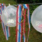 Фото 19: Гирлянда из шариков с блестками