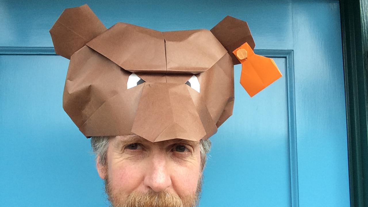 Трехмерное оригами схемы