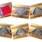Сборка головы собачки оригами