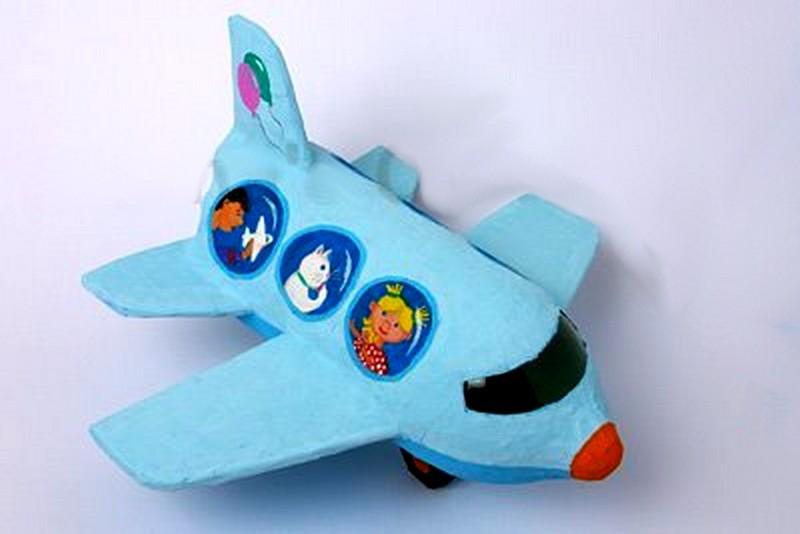 Самолет своими руками в детском саду