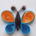 Фото 37: Бабочка квиллинг