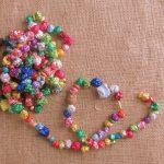 Фото 46: Бусы из шариков конфет