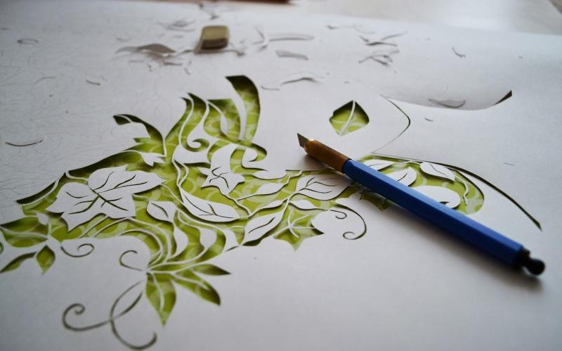 Искусство вырезания ажурных узоров из бумаги