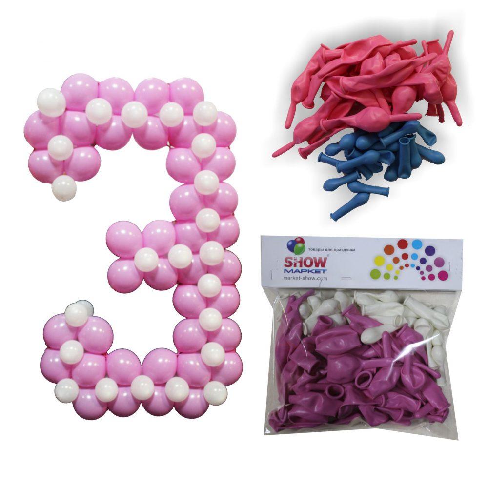 Как сделать шар из шаров линколунов 31