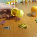 Фото 43: Дидактическая игра с помощью киндер контейнеров