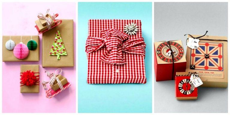 Как красиво оформлять подарки 852
