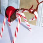 Поделка олененок из рождественской карамели