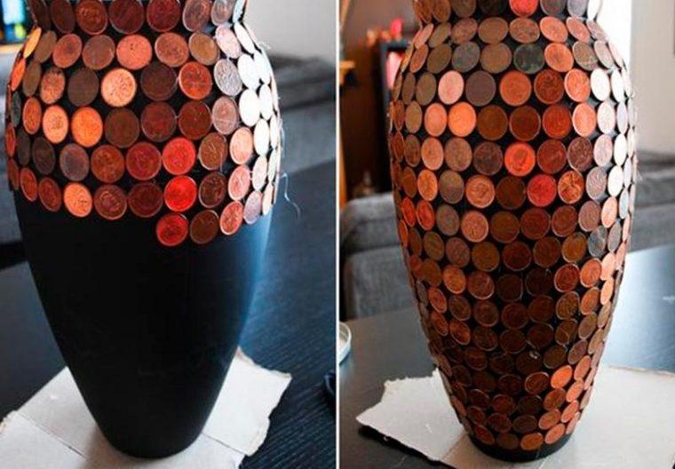 Как оформить вазу своими руками из подручных материалов 53