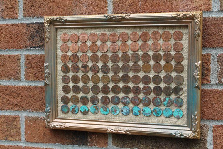 Рамка для монеты своими руками