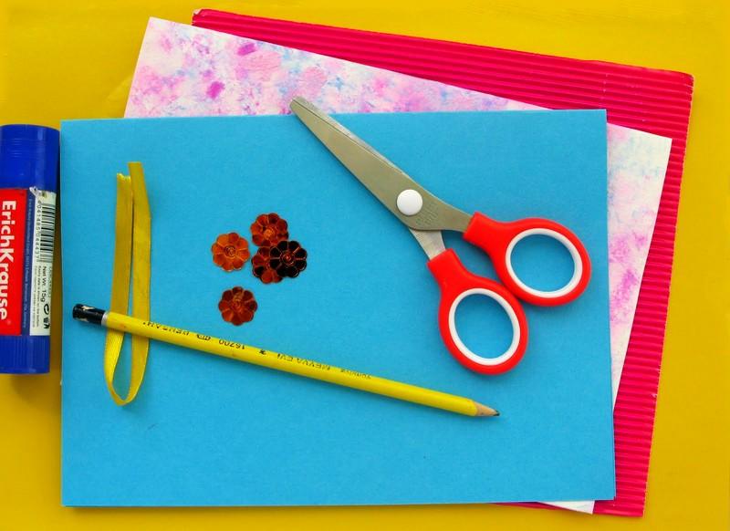 Как сделать открытку из картона на день рождение 551