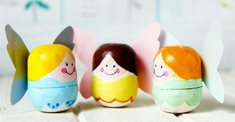 Поделки из киндер яиц своими руками