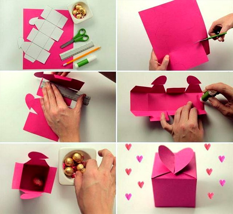 Подарок своими руками на день рождения быстро и легко