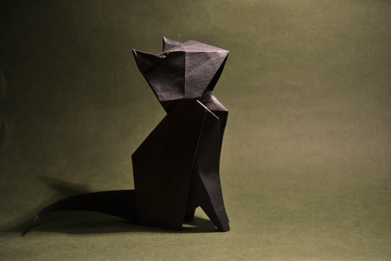 оригами животных пошаговая инструкция