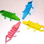 Фото 18: Крокодилы из бумаги