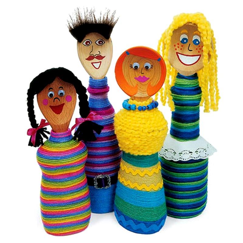 Поделки на День матери из салфеток в детском саду своими 88