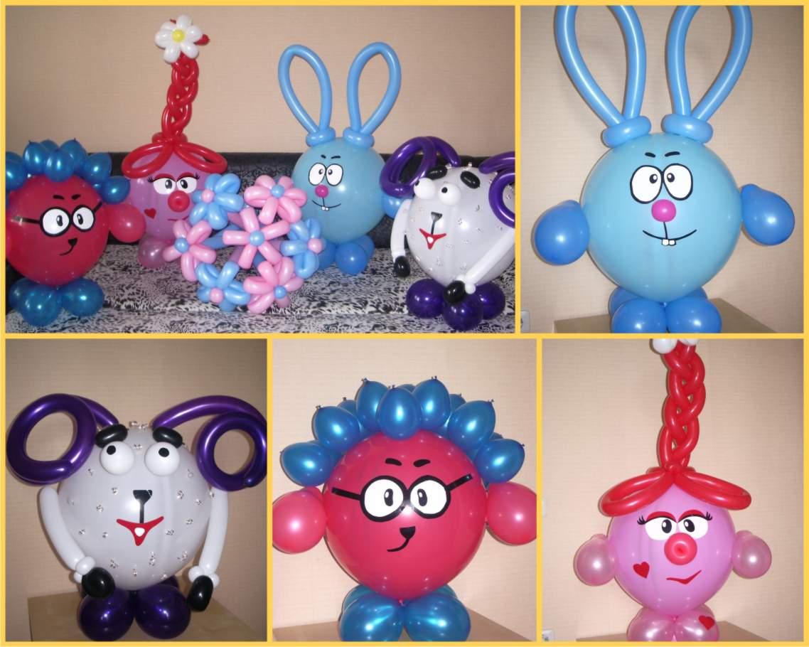 Как сделать фигуры из шаров. Фото пошагово с описанием 33